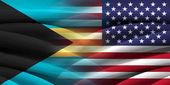 USA and Bahamas. — Stock Photo