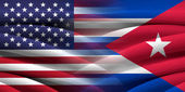 USA and Cuba. — Stock Photo