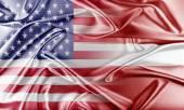 USA and Latvia — Stock Photo