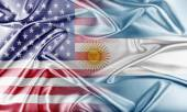 USA and Argentina — Stock Photo
