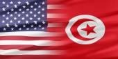 USA and Tunisia — Stock Photo