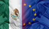 European Union and Mexico. — Stock Photo