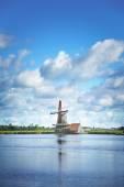 Wind mill of Netherland — Stock Photo