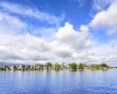 Tranquil scene. Zaanse Schans. Amazing Dutch village. — Stock Photo