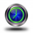 Clock glossy icon. — Stock Photo #61832851
