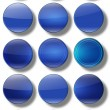 Web Buttons glossy- set. — Stock Photo #61840595