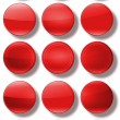 Web Buttons glossy- set. — Stock Photo #61840735