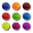 Web buttons glossy- round. — Stock Photo #61840753