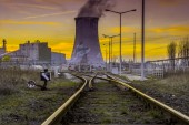 Power Plant - Industrial view — Stock Photo