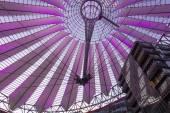 Centro da Sony em Potsdamer Platz de Berlim, Alemanha — Fotografia Stock