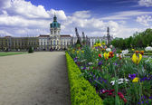 Schloss Charlottenburg - Charlottenburg Palace — Stock Photo