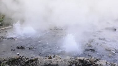 Pong Dued Geyser. — Stock Video