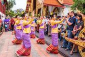 Taylandlı kadın dansçı — Stok fotoğraf