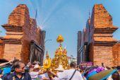 Songkran festival. — Stockfoto