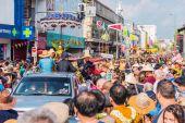 Songkran festival. — Stock Photo