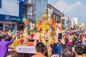Songkran festival. — Stock Photo