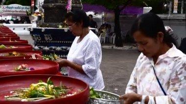 Inthakin Festival. — Stockvideo