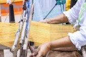 Traditional cotton woven. — Stockfoto