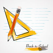 Back to school drawing pins — Stock Vector