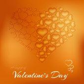 Valentin coeur — Vecteur