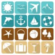Summer icons 3 — Stock Vector #75667605