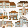 City houses — Stock Vector #54749293