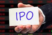 IPO wording — Stock Photo