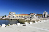 Commerce Square, Lisbon — Stock Photo