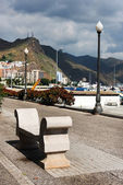 Architectonische details in Santa Cruz de Tenerife — Stockfoto