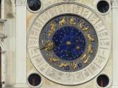 Zodiac clock at San Marco Square — Stock Photo