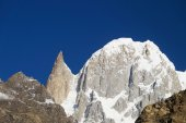 Close up of Hunza Peak and Lady Finger in Northern Pakistan — Stock Photo