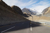 Road to Pasu Glacier in Northern Pakistan — Stock Photo