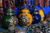 Souvenirs  in   medina of Fes,Morocco — Stock Photo