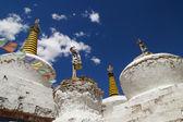 Stupas of Lamayuru Monastery in  Ladakh, India — Stock Photo