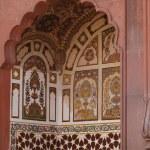 Beautiful painting in Badshahi Mosque  in Lahore,Pakistan. — Stock Photo #78913952