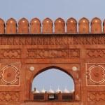 Wall Art of Badshahi Mosque in  Lahore,Pakistan — Stock Photo #78914554