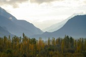 Mountains  near Ghizer Valley in Northern  Pakistan — Stock Photo