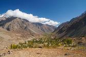 Beautiful valley near Phandar Lake, Northern Pakistan — Stock Photo