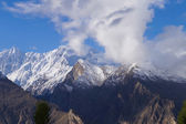 High mountain at Hunza Valley , Northern Pakistan — Stock Photo