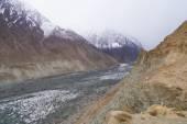 Hoper Glacier in Northern Pakistan — Stock Photo