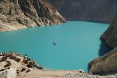 Attabad Lake in Northern Pakistan — Stock Photo