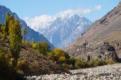High mountain near Phandar Valley , Northern Pakistan — Stock Photo