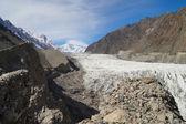 Pasu Glacier in autumn,Northern Pakistan. — Stock Photo