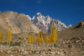 Beautiful view near Pasu Glacier , Northern Pakistan — Stock Photo