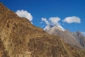 High mountain near Gupis Lake ,Northern Pakistan — Stock Photo