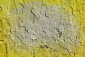 Neon vibrant yellow green grungy wall texture. More of this moti — Stock Photo