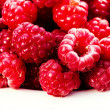 Fresh Red Ripe raspberries — Stock Photo #56530463