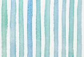 Watercolor striped textured background — Stock Photo