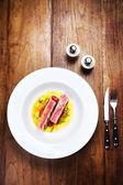 Grilled fillet steak — Stock Photo