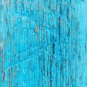 Blue Grunge Wooden Textured — Stock Photo